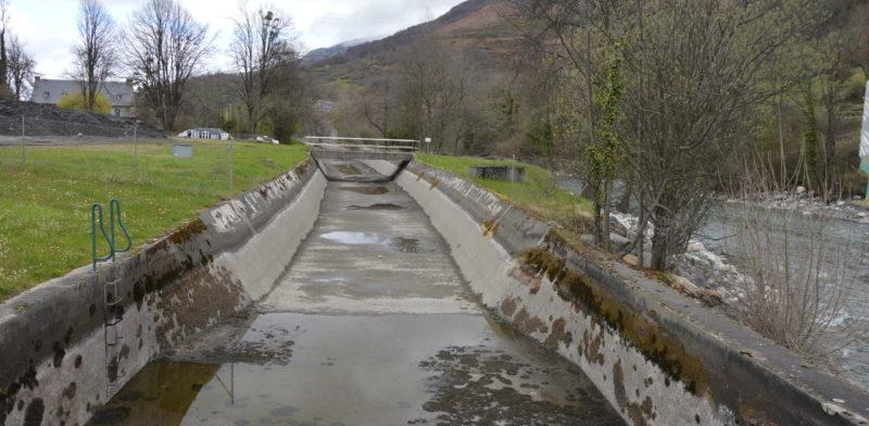 Le canal de la Neste mis à sec pour travaux