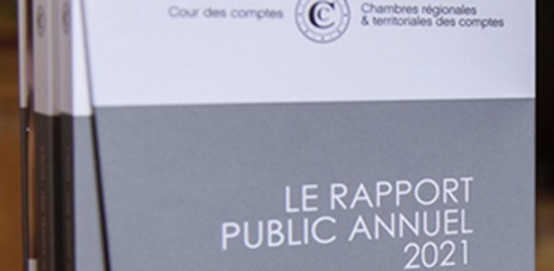 La cour des comptes publie son rapport public annuel